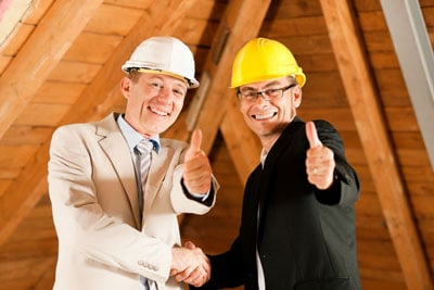 photo of roofing contractors