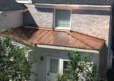 charlotte metal and copper roofing contractor
