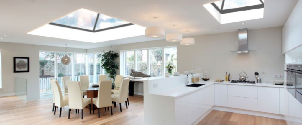 Skylights for your kitchen and dining area