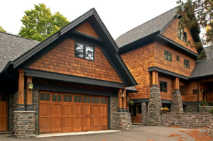image of Cedar shakes on a home